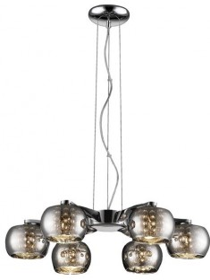 Zuma Line P0076-06F-F4FZ CRYSTAL, závesné svietidlo
