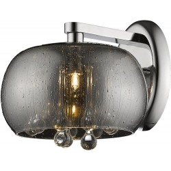 Zuma Line W0076-01D-F4K9 RAIN, nástenné svietidlo