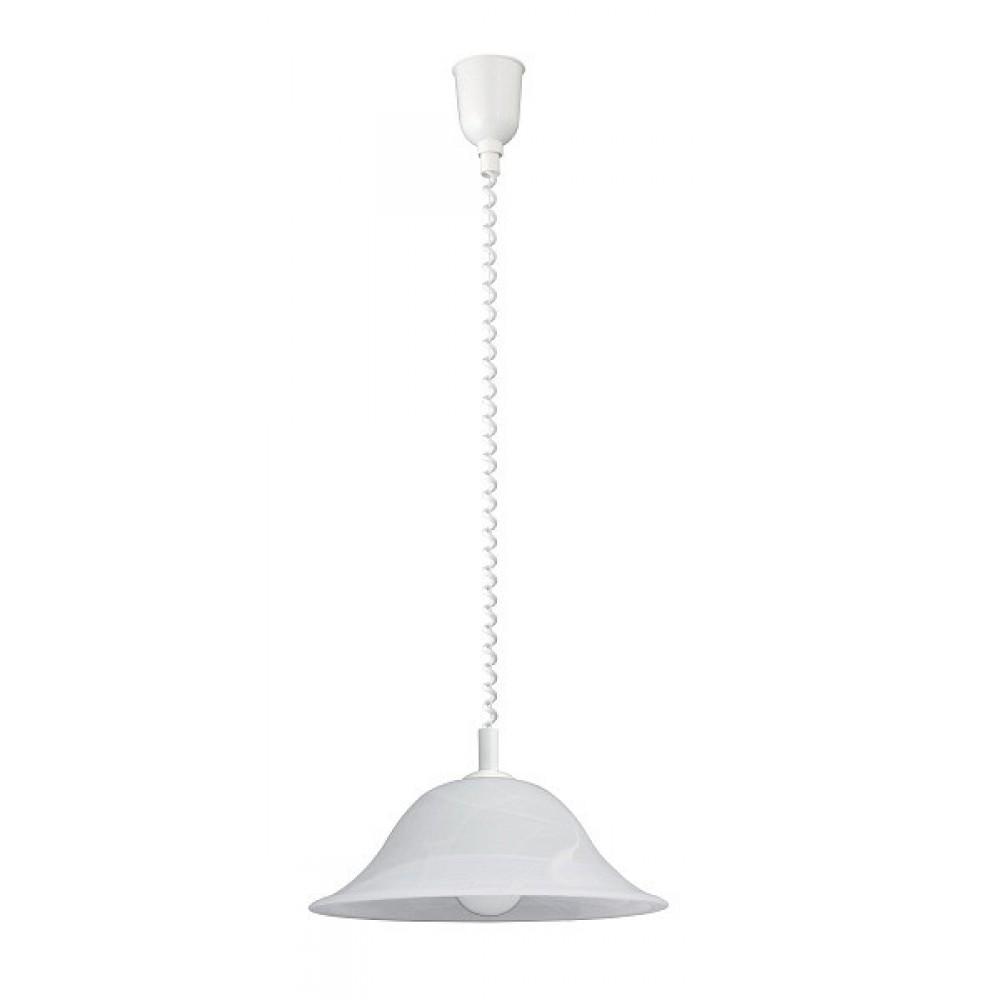 Rábalux 3904 Alabastro, závesná lampa, D41, rolly