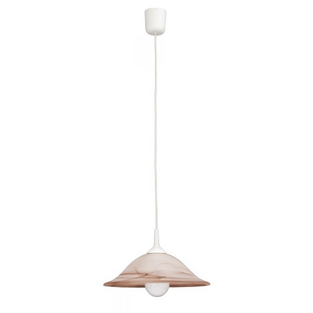 Rábalux 3955 Alabastro, závesná lampa, D30, fix