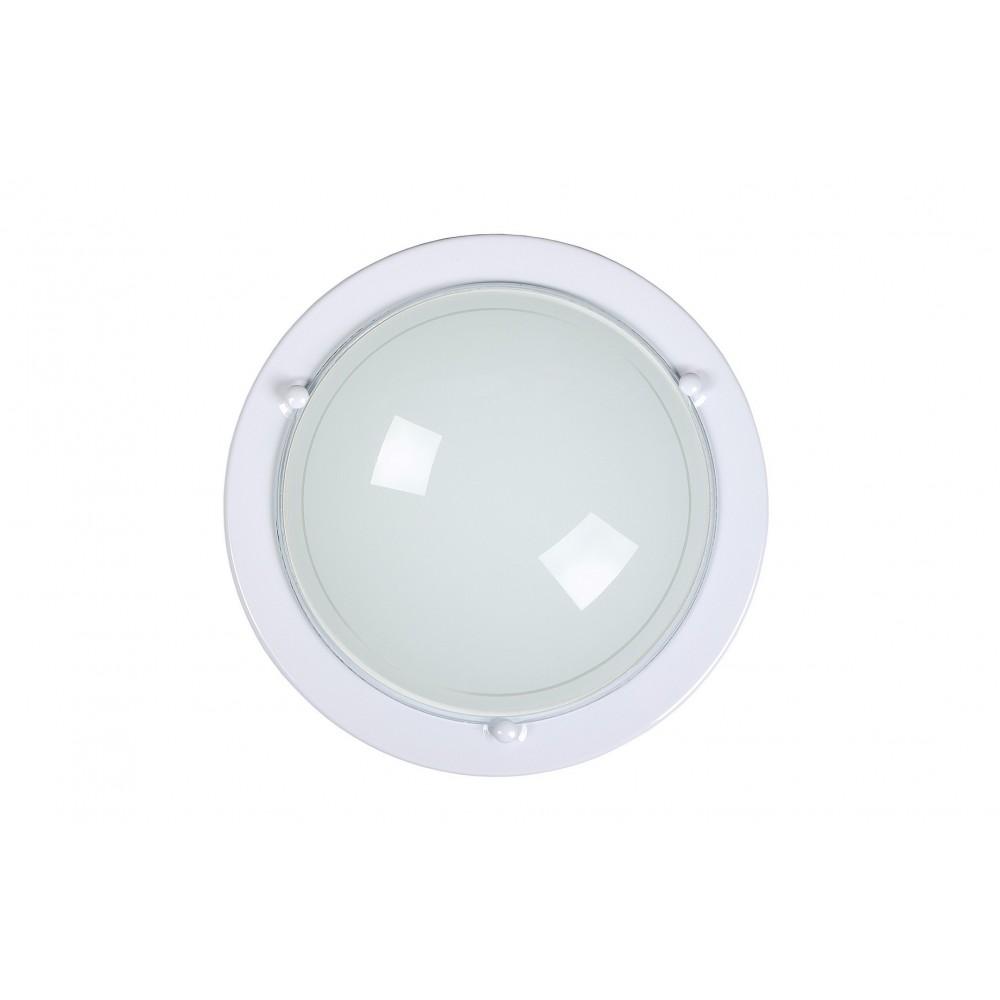 Lucide 07104/30/31 Ceiling Light 1xE27/75W R30cm opal glass White