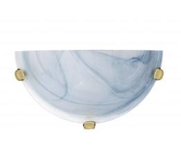 Lucide 07213/01/68  Wall lamp R30cm Alabaster glass E27/60W Bleu