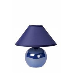 Lucide 14553/81/35 FARO Table lamp Ceram. H.21cm Pearl Blue