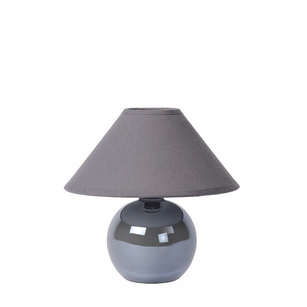 Lucide 14553/81/36 FARO Table lamp Ceram. H.21cm Pearl Silver