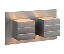 Lucide 17282/02/12 BOK 69B Wall light 2xG9/40Wexcl. Satin chrome