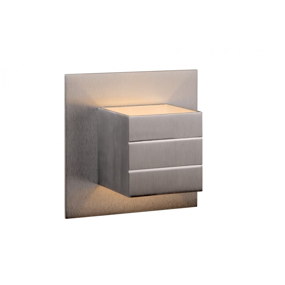 Lucide 17282/11/12 BOK 69 Wall light 1xG9/40Wexcl. Satin chrome