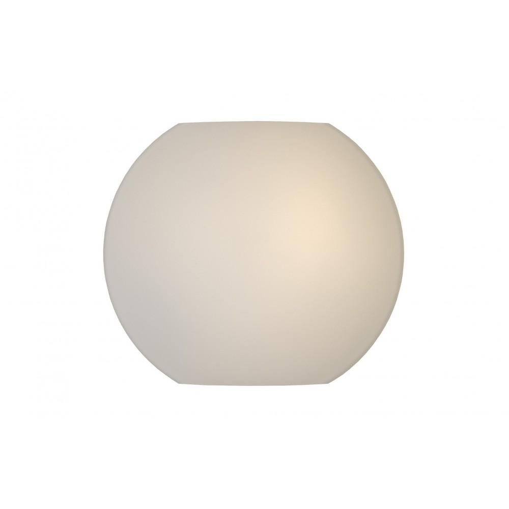 Lucide 20226/25/61 LAGAN Wall light D.25 E27/60W Opale White