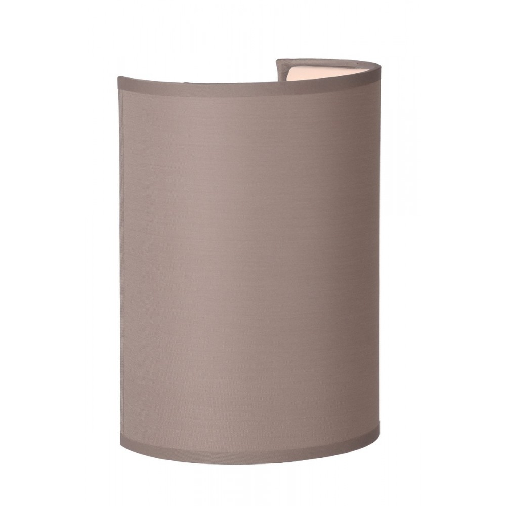 Lucide 61250/14/41 CORAL Wall Light  E27 Shade Round D15-15-21cm