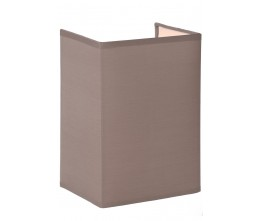 Lucide 61254/14/41 CORAL Wall Light  E27 Shade Rectan.15-11-21cm