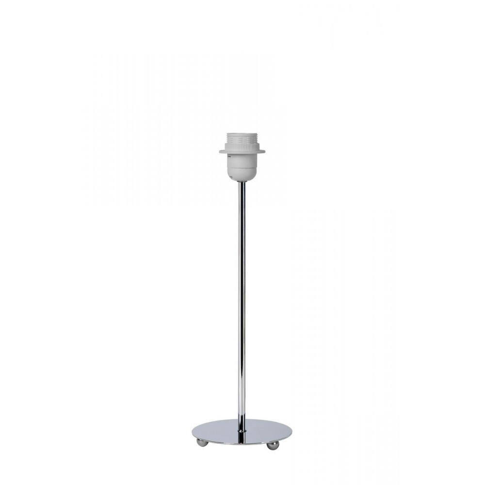 Lucide 61500/40/11 KIDDY Table lamp Round/Round H40cm E27 Chrome