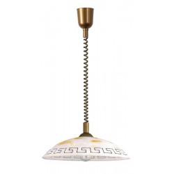 Rábalux 7640 Etrusco, závesná lampa D40, rolly