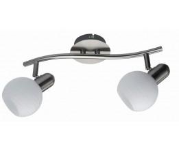 Rábalux 6342 Aurel- nástenná lampa 2ramenná, biele pásiky
