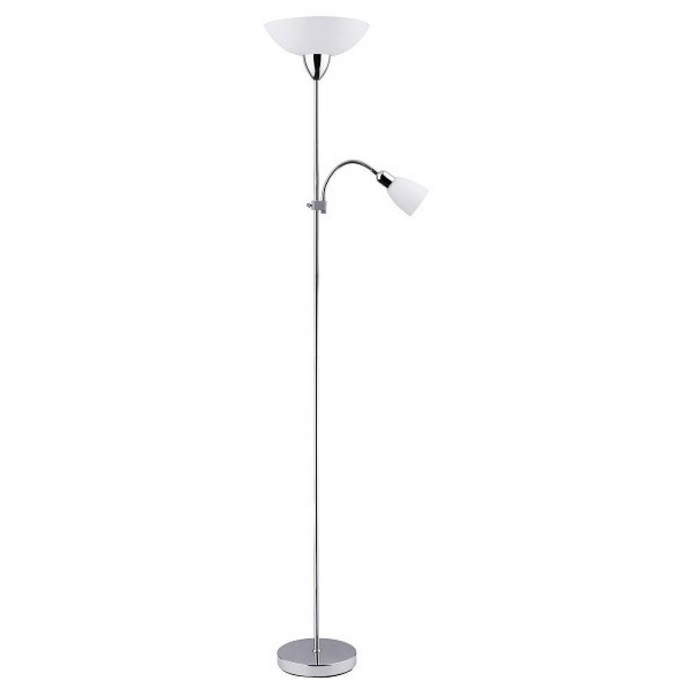 Rábalux 4059 Diana, 2-ram. stojacia lampa, chróm., s kábl. spínačom