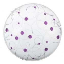 Rábalux 1964 Jolly lilac,  nástenná/stropná lampa