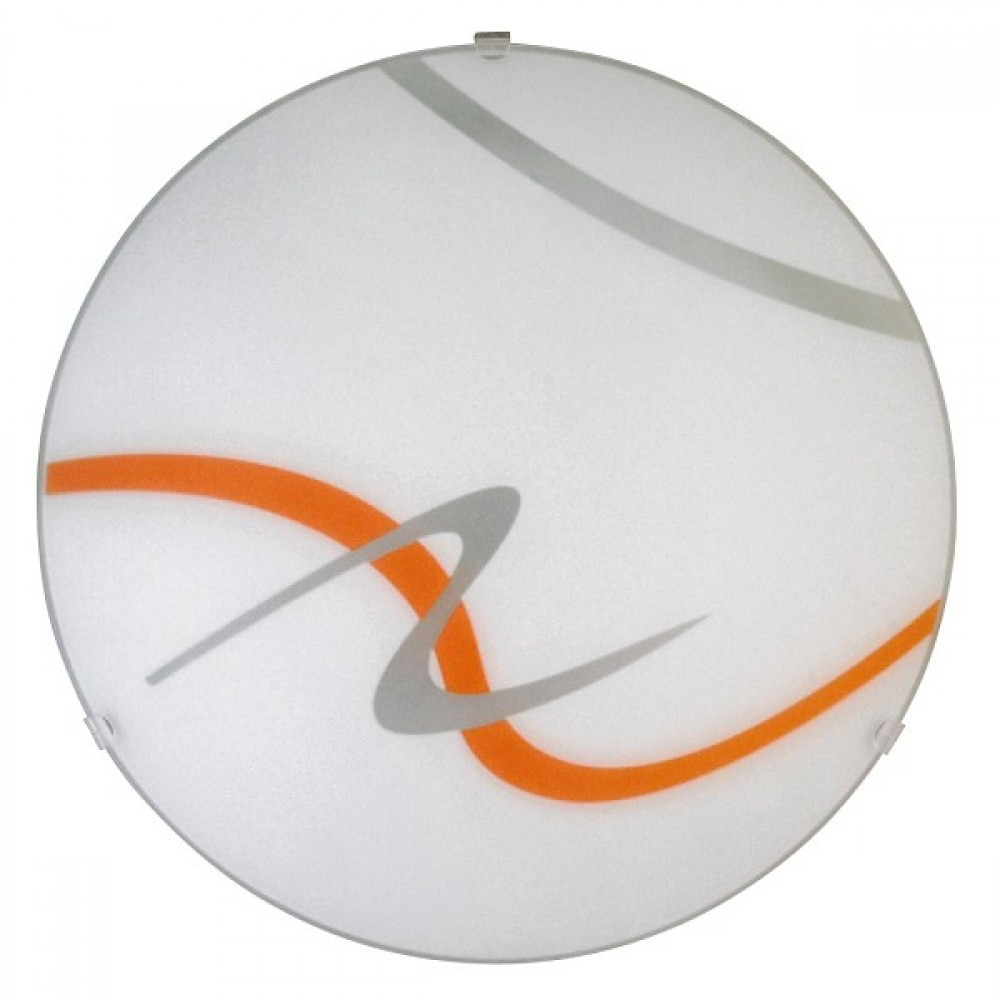Rábalux 1815 Soley,  nástenná/stropná lampa, oranž.pruhy