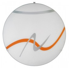 Rábalux 1816 Soley,  nástenná/stropná lampa, oranž.pruhy
