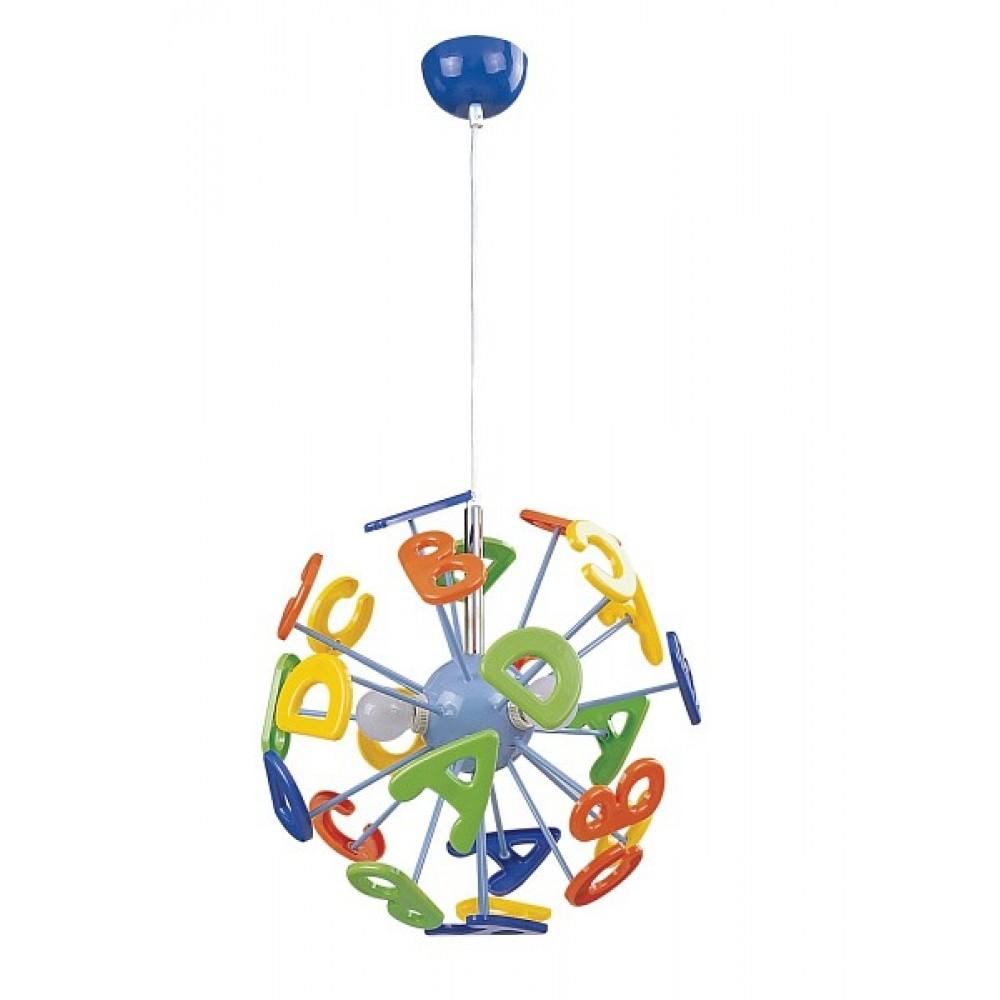 Rábalux 4716 Abc, závesná lampa detská