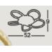 SEARCHLIGHT 85201-5CC Daisy, Stropné svietidlo