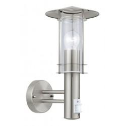 Eglo 30185 WL/1 w.sensor stainless-steel/clearLISI