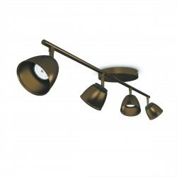 Massive - Philips County bar/tube bronze 4x4W 230V 53354/06/16 spot stropný