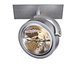 Schrack Technik KALU RECESSED 1 zápustné, matné biele, 1xQRB111, max. 50W LI113401