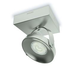 Massive-Philips 53310/17/16 Spur single spot nickel 1x4.5W SELV nástenné svietidlo