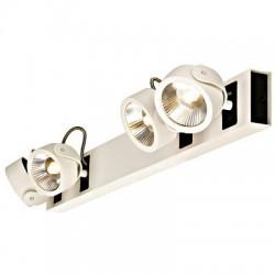 Schrack Technik LI147651  KALU LED 4 Wide Line Wall- & ceiling l., 4x10W, 3000K, wh/bl