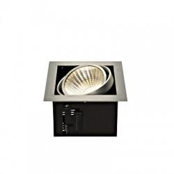 Schrack Technik   KADUX LED Single DL Set, 3000K, 30°, br. hliník