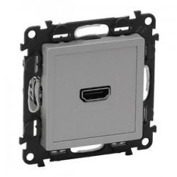 Legrand Valena Life - Zásuvka HDMI 1,3 , hliník - 753371