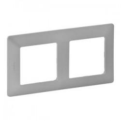 Legrand Valena Life -Dvojnásobný rámik, hliník - 754132