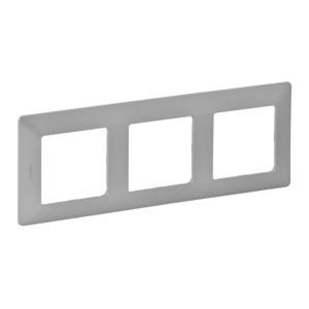 Legrand Valena Life - Trojnásobný rámik, hliník - 754133
