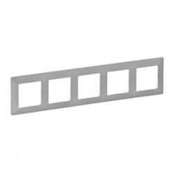 Legrand Valena Life - Päťnásobný rámik, hliník - 754135
