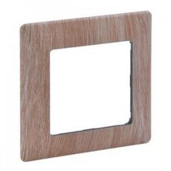 Legrand Valena Life - Jednoduchý rámik, drevo - svetlé - 754181