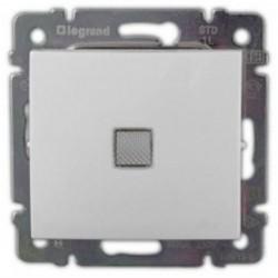 Legrand Valena -  Striedavý prepínač č. 6 so signalizačným osvetlením, biela - 774425