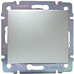 Legrand Valena - Striedavý prepínač č.6 - 10 AX, hliník - 770106