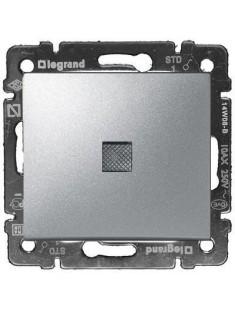Legrand Valena -  Striedavý prepínač č. 6 s orientačným osvetlením, hliník - 770126