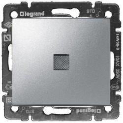 Legrand Valena - Krížový prepínač č.7 s orientačným osvetlením, hliník - 770148