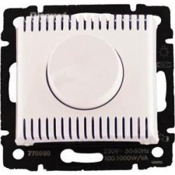 Legrand Valena - Výkonový stmievač 100 - 1000W, biela - 770060