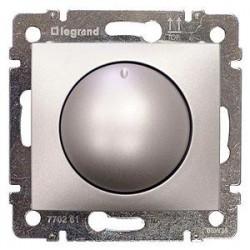 Legrand Valena - Otočný stmievač 40 - 400W, hliník - 770261