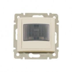 Legrand Valena Life - Automatický spínač s detektorom pohybu pre žiarovky a halogénky 230V - 60-300W, béžová - 774128