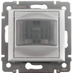 Legrand Valena Life - Automatický spínač s detektorom pohybu pre žiarovky a halogénky 230V - 60-300W, hliník - 770228