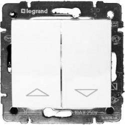 Legrand Valena - Tlačidlo ovládania žalúzií, biela - 774414
