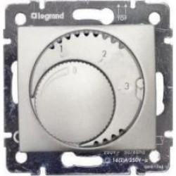 Legrand Valena - Termostat - štandard, hliník - 770226