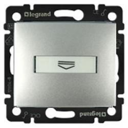 Legrand Valena - Hotelový kartový spínač, štandard, hliník - 770234