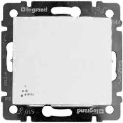 Legrand Valena - Spínač č.1 - IP44, biela - 774201