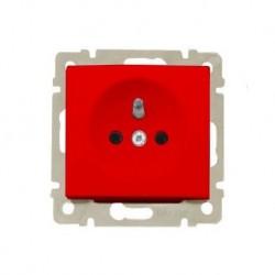 Legrand Valena - Zásuvka 2P červená, 16A - 250V - 774369