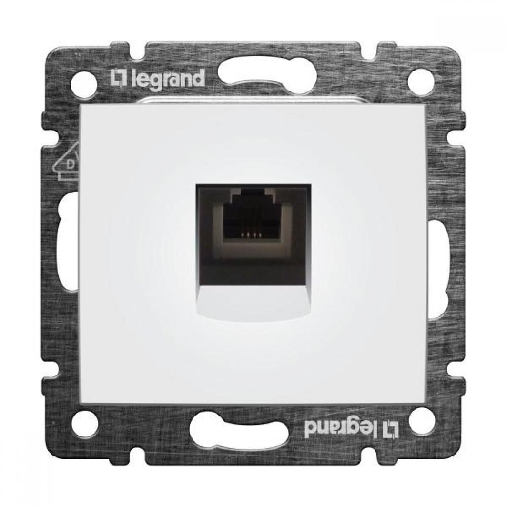 Legrand Valena - Telefónna zásuvka 1 x RJ11, biela - 774438