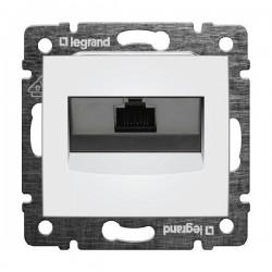 Legrand Valena - Dátová zásuvka 1 x RJ 45, kat. 6, FTP, biela - 774232