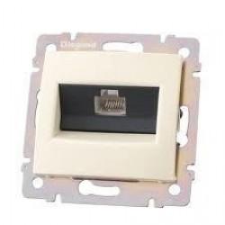 Legrand Valena - Dátová zásuvka 1 x RJ 45, kat. 6, FTP, béžová - 774132