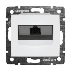 Legrand Valena - Dátová zásuvka 1 x RJ 45, kat. 6, STP, biela - 774244